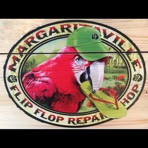 "The Margaritaville ""Flip Flop Repair Shop"" Sign"